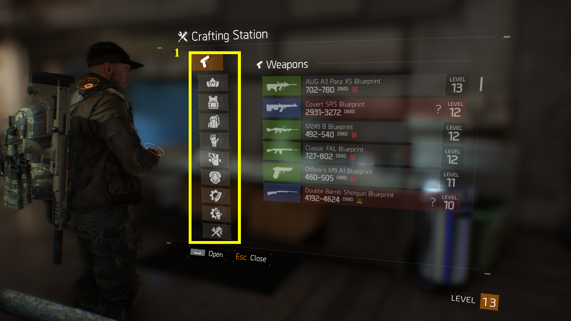 TeamBRG-The-Division-Crafting-Basics-Crafting-Menu-1