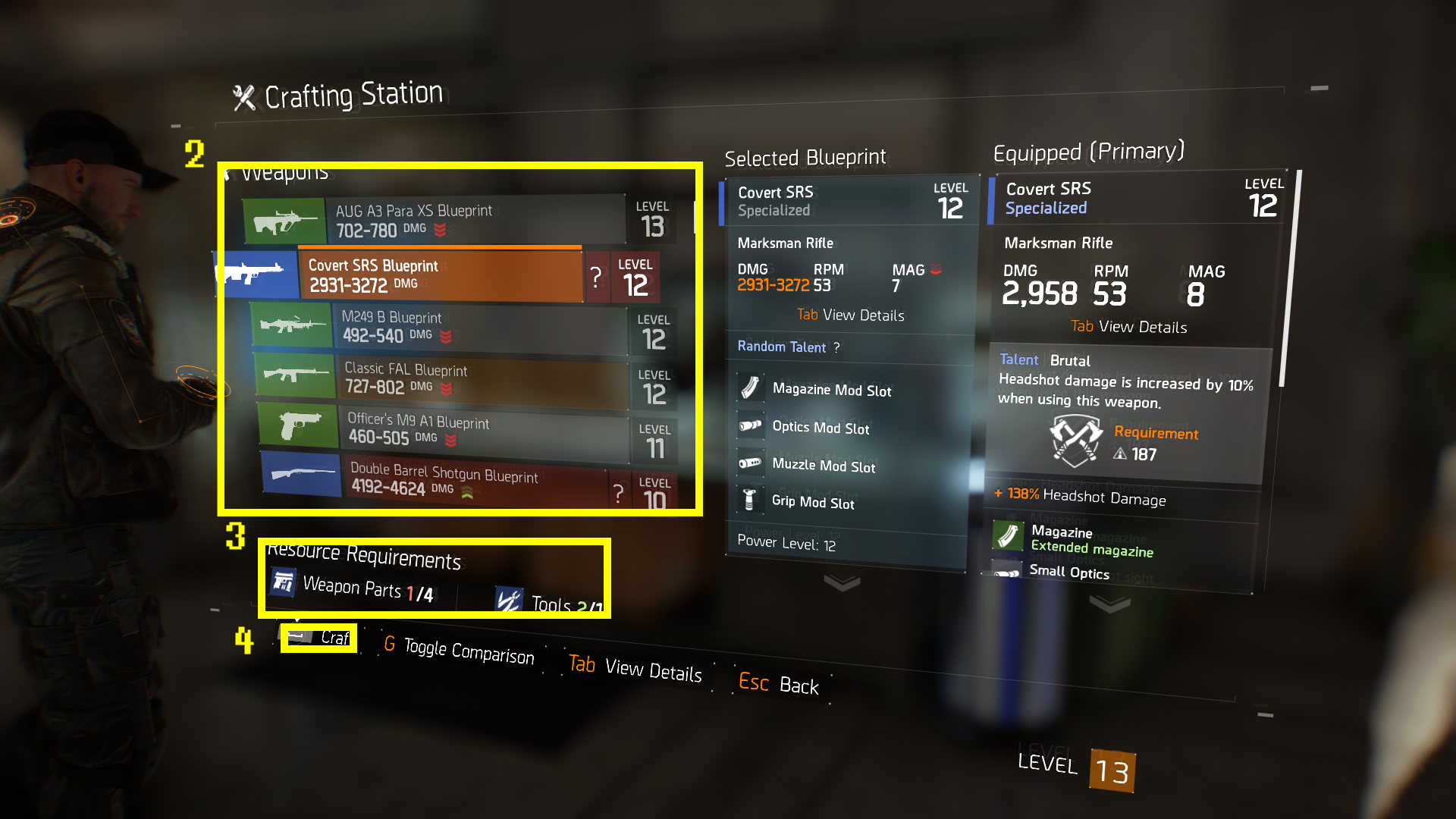 TeamBRG-The-Division-Crafting-Basics-Crafting-Menu-2