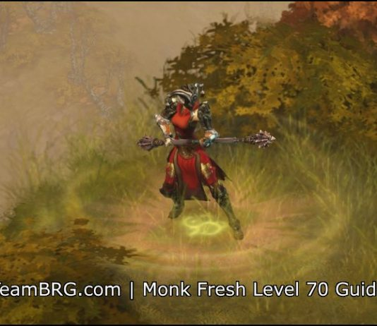 D3 Monk Fresh Level 70 Guide S17 | 2 6 5 | Team BRG