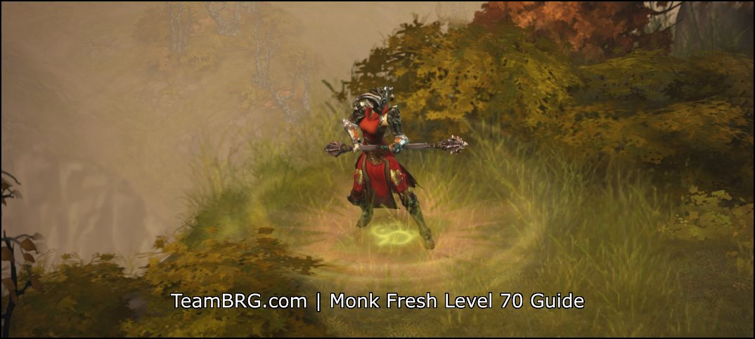 Diablo  Fresh  Monk Build