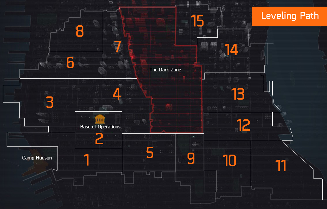 The Division Leveling Guide  Team BRG