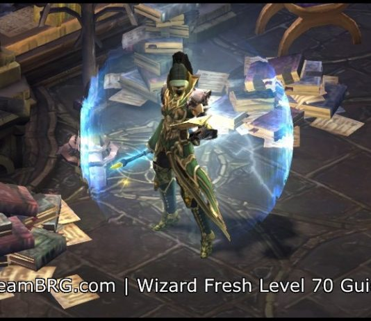 D3 Wizard Fresh Level 70 Guide S17 | 2 6 5 | Team BRG