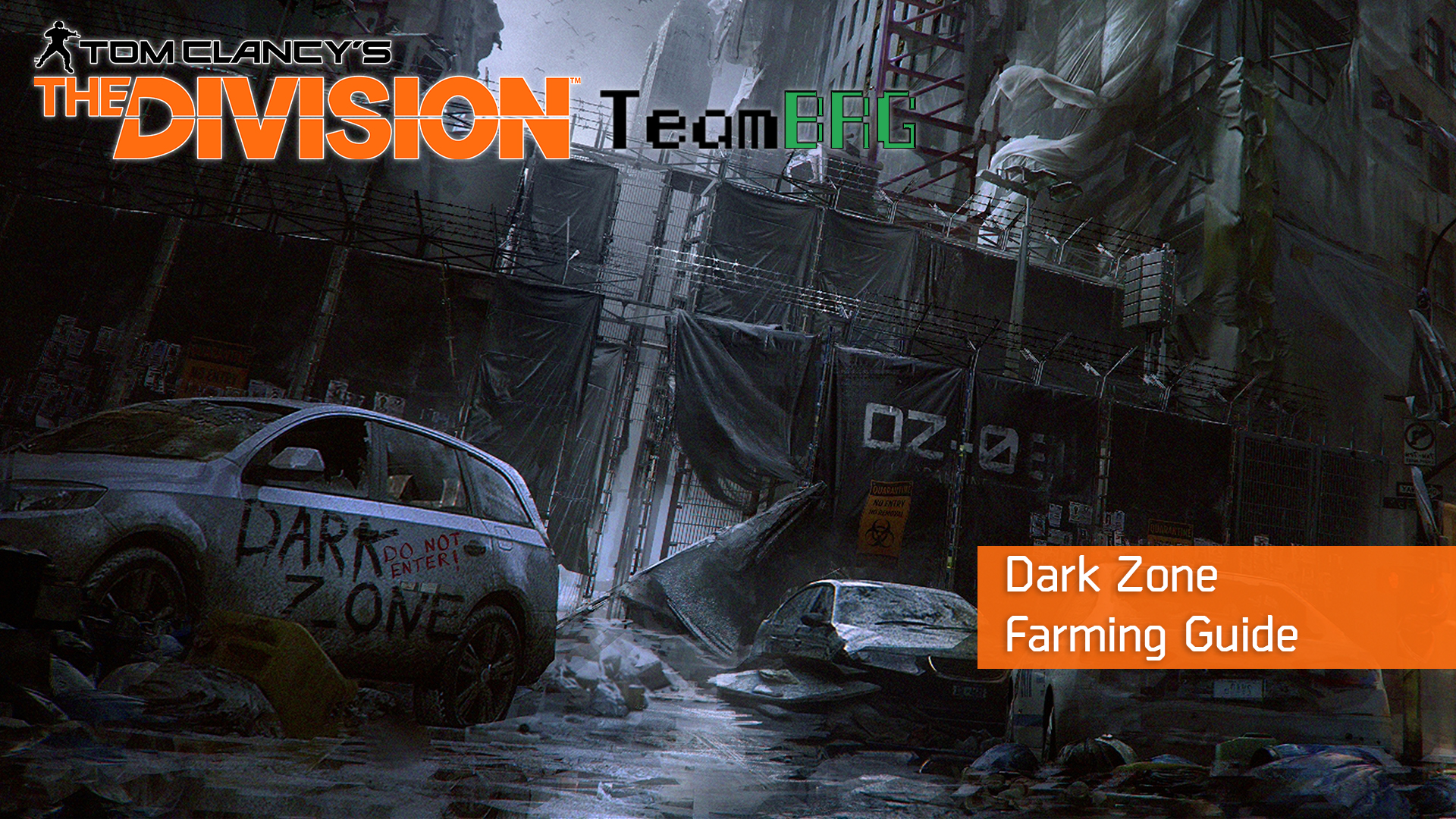 The Division Dark Zone Farming Guide Team Brg