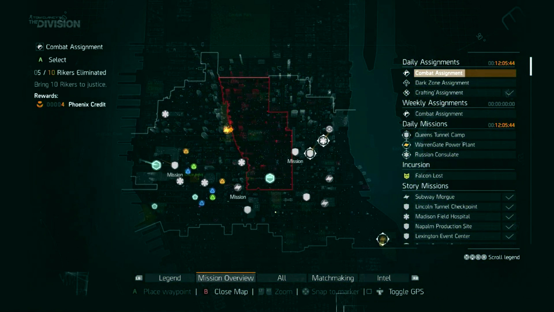 matchmaking the division incursion