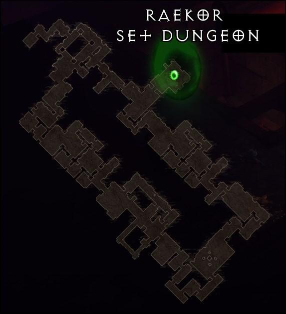 Diablo  Raekor Set Dungeon Build