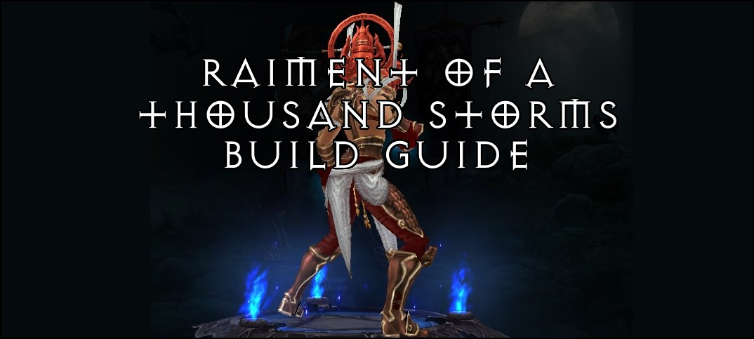 Image Result For Diablo Thousand Storms Build