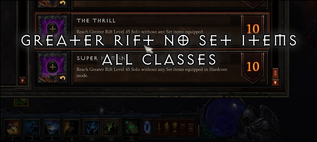 The Thrill: GR No Set Items Conquest (ALL CLASSES) | Team BRG