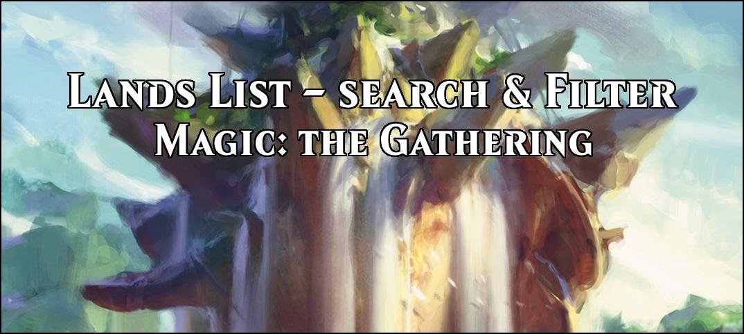 MTG Lands List – Find the Land you're looking for! | Team BRG