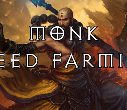 Best Monk Speed Farming Build Season