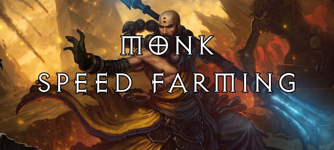 Best Monk Speed Farming Build T