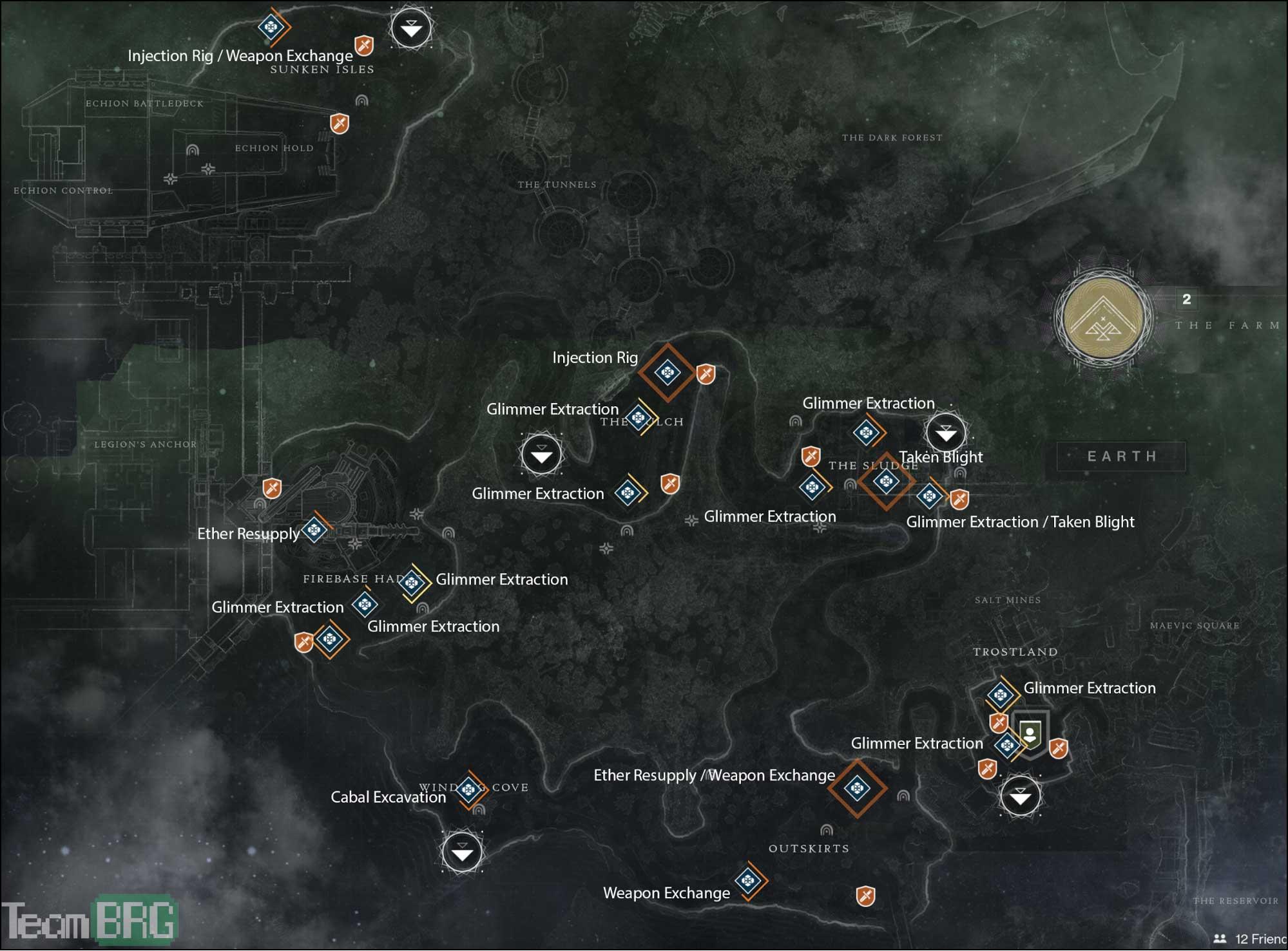 Destiny 2 Public Events Guide List Walkthroughs Team Brg
