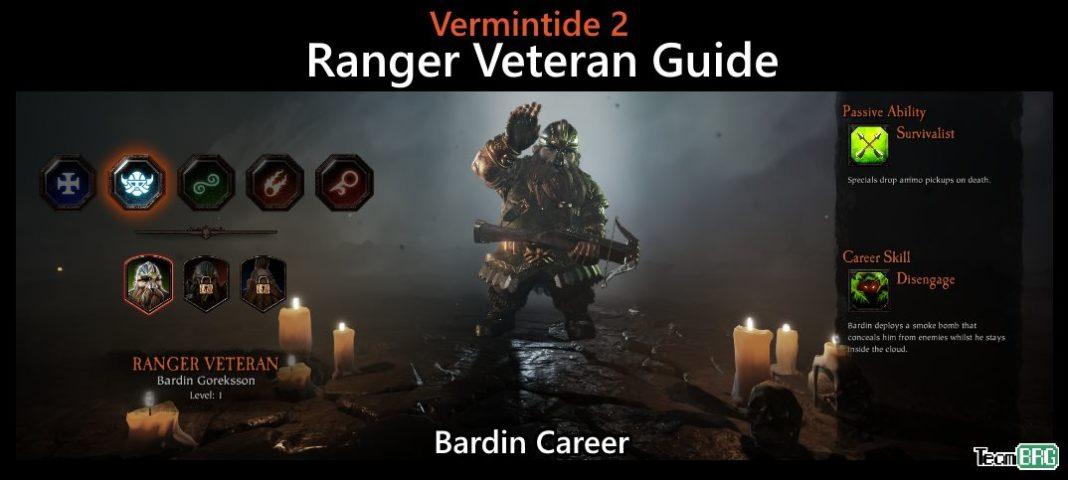 so billig Verarbeitung finden Turnschuhe für billige Vermintide 2: Ranger Veteran Career – Talents, Builds Guide ...