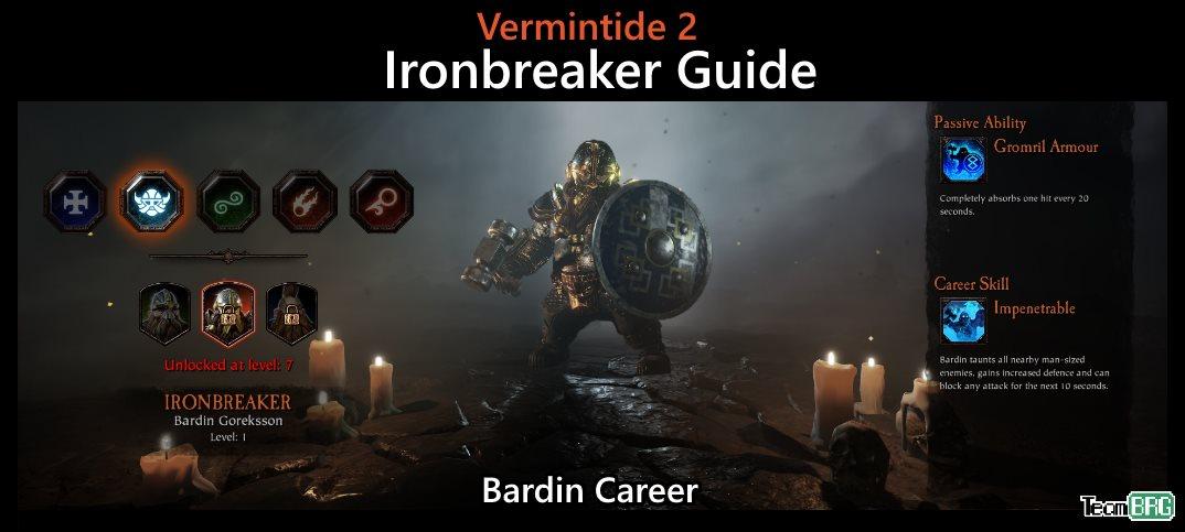 Vermintide 2: Ironbreaker Career – Talents, Builds Guide | Team BRG