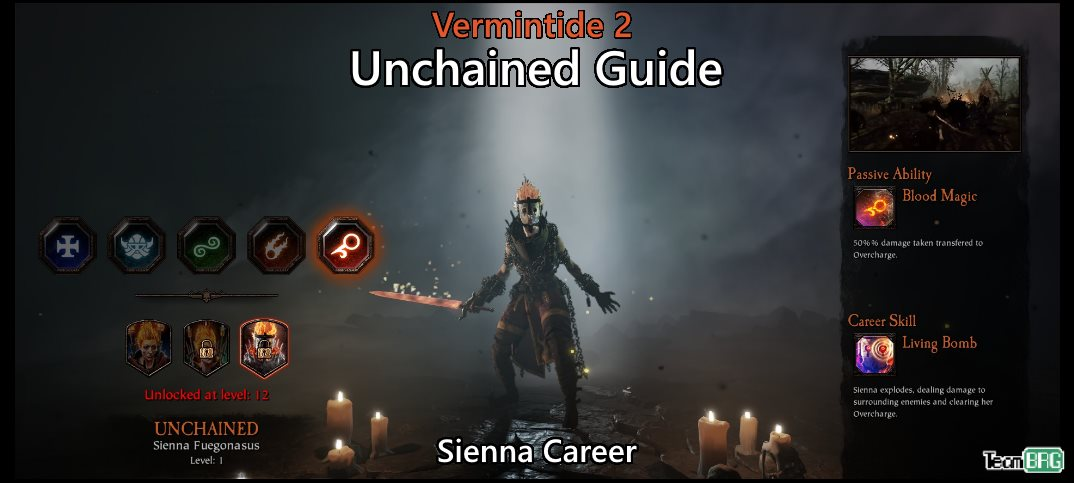 Vermintide 2: Unchained Career – Talents, Builds Guide | Team BRG